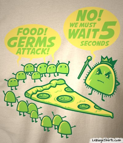 The Five Second Rule Funny