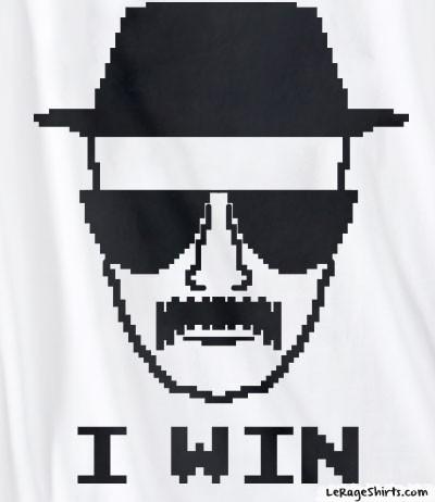 breaking bad heisenberg i win tee