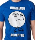 challenge accepted meme rage face t-shirt guys