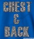 chest & back shirt guys