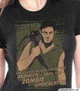 daryl dixon everybody makes fun of the redneck until the zombie apocalypse t shirt ladies