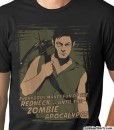 daryl dixon everybody makes fun of the redneck until the zombie apocalypse t shirt guys