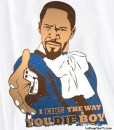 django unchained t-shirt i like the way you die boy