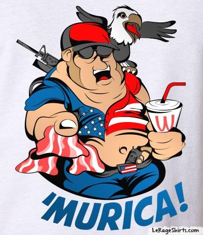 funny murica meme shirt