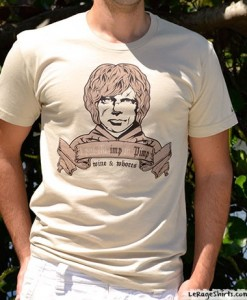 tyrion lannister imp in pimp t-shirt for guys