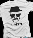 heisenberg breaking bad t-shirt