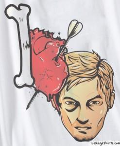 I Love Daryl Dixon TWD Shirt