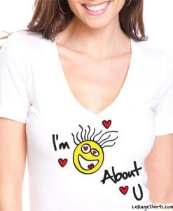im crazy about you sexy ladies t-shirt