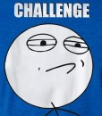 challenge accepted meme rage face shirt