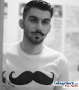 like a sir mustache t-shirt fan