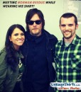 LeRageShirts fan meets Norman Reedus