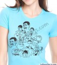 meme dream team shirt rage faces ladies