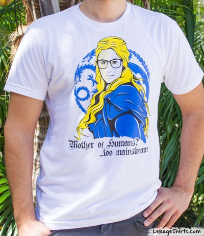 mother of dragons hipster khaleesi shirt