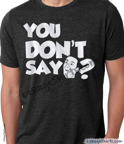 nicolas cage you dont say meme t-shirt guys