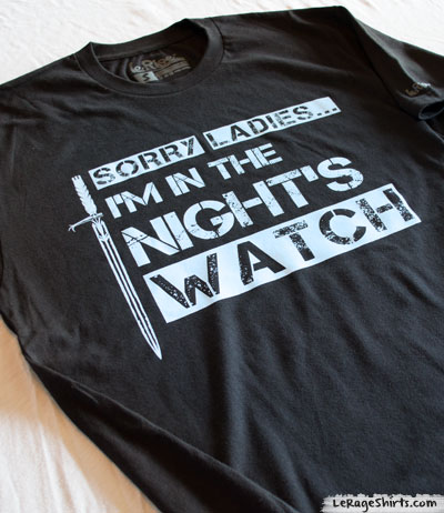 Game of Thrones Night's Watch Shirt