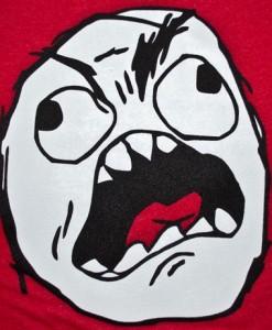 rage guy fffuuuu meme t-shirt