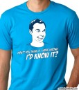 sheldon cooper the big bang theory guys tee