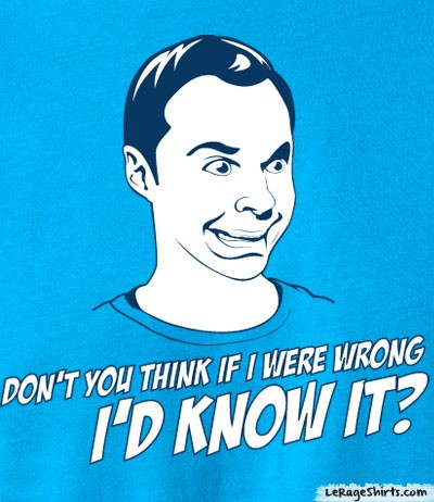 sheldon cooper the big bang theory shirt