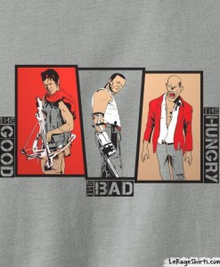 Walking Dead Dixon Brothers Daryl and Merle T-Shirt