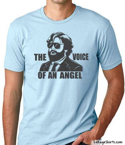 the hangover 3 voice of an angel alan garner t-shirt