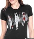 the walking dead michonne t-shirt ladies