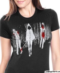 the walking dead michonne t-shirt ladies