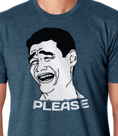 yao ming bitch please meme t-shirt