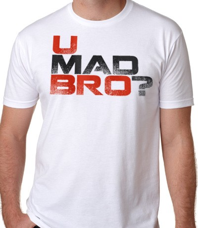 you mad bro men's t-shirt