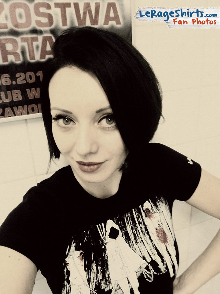 Michonne and Zombies The Walking Dead T-Shirt as Worn by Beata from Poland