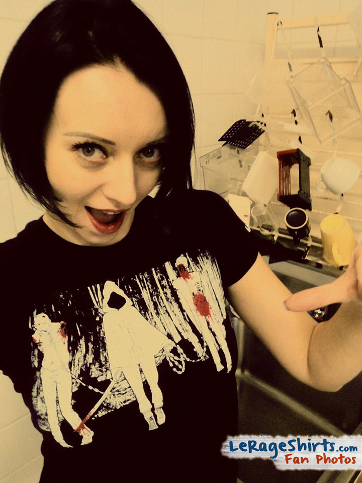 The Walking Dead Michonne and Walkers Tee as Worn by Beata from Poland