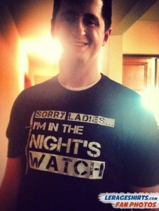 Seth Madison Wisconsin Sorry Ladies Im in the Nights Watch Shirt