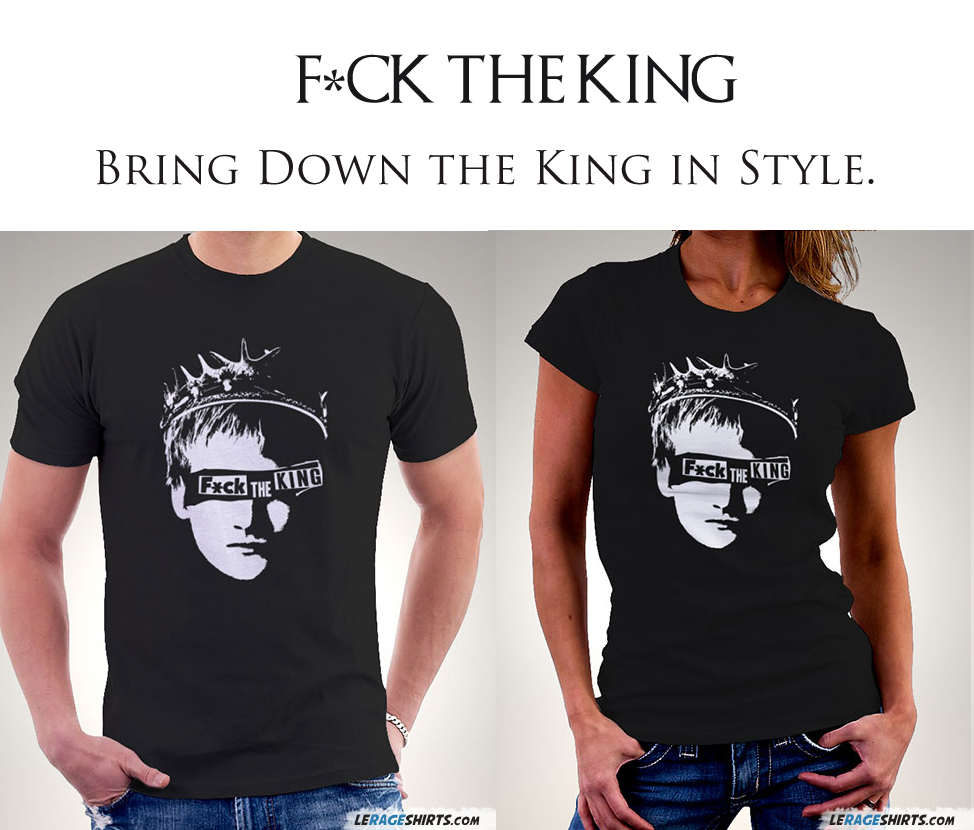 Fuck the King Game of Thrones T-Shirt