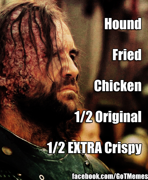hound fried chicken one half original one half extra crispy