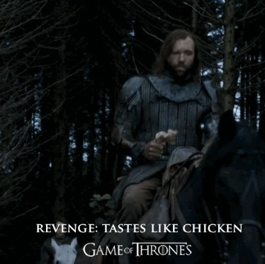 revenge tastes like chicken
