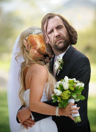 the hound takes chicken wife