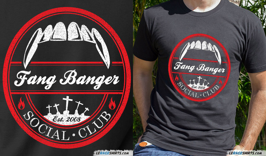 true blood fang banger t-shirt