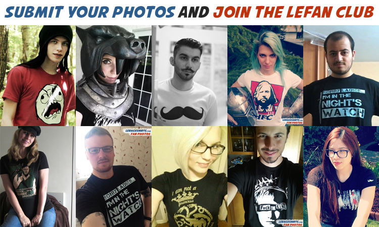submit your awesome fan photos and join the lefan club