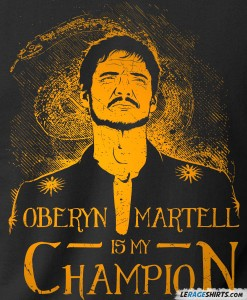 oberyn-martell-is-my-champion-shirt