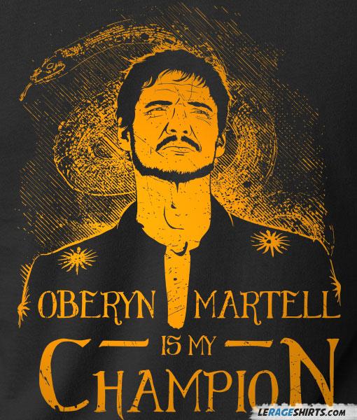 oberyn-martell-is-my-champion-shirt