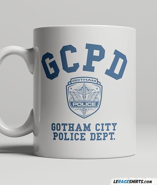 Gotham Police Department Mug Lerage Shirts