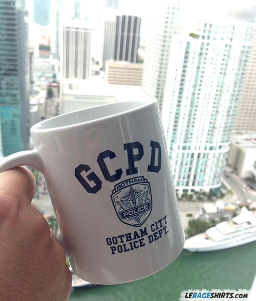 GCPD Gotham City Police Department Mug