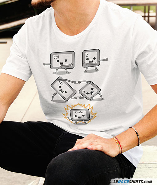 2ebe63892 Geek and Nerdy T-Shirts | Video Game Tees by LeRage Shirts