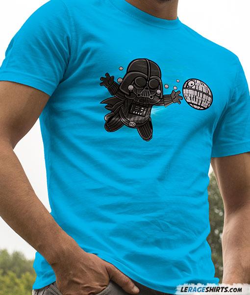 Darth Vader Nirvana Nevermind Mash Up Star Wars T Shirt