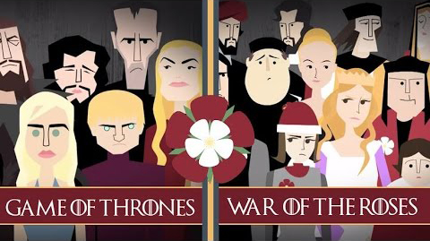 game of thrones war of the roses similarities