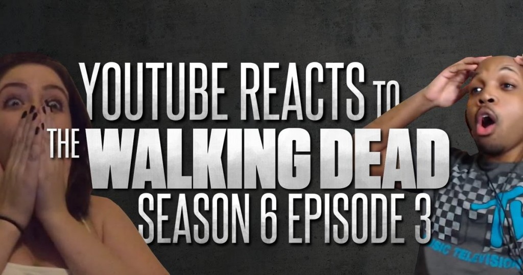 The Walking Dead fans glenn death reaction videos.