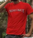 procrastinate-netflix-t-shirt-funny