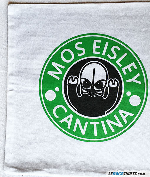 Star Wars Mos Eisley Cantina pillow cover