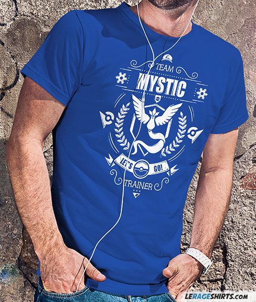 9b3d0095e Team Mystic Tee Pokemon Go - by LeRage Shirts