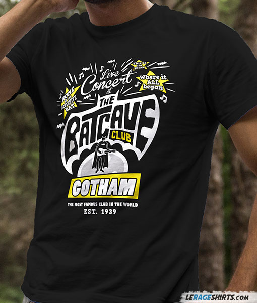 Batcave classic Batman Shirt