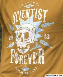 rick-morty-funny-t-shirt-scientist-forever